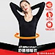 GIORDANO 女裝G-Warmer彈力舒適圓領極暖衣 - 01 標誌黑 product thumbnail 1