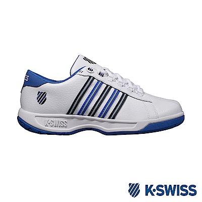 K-Swiss Eadall ll休閒運動鞋-男-白/深藍/天空藍