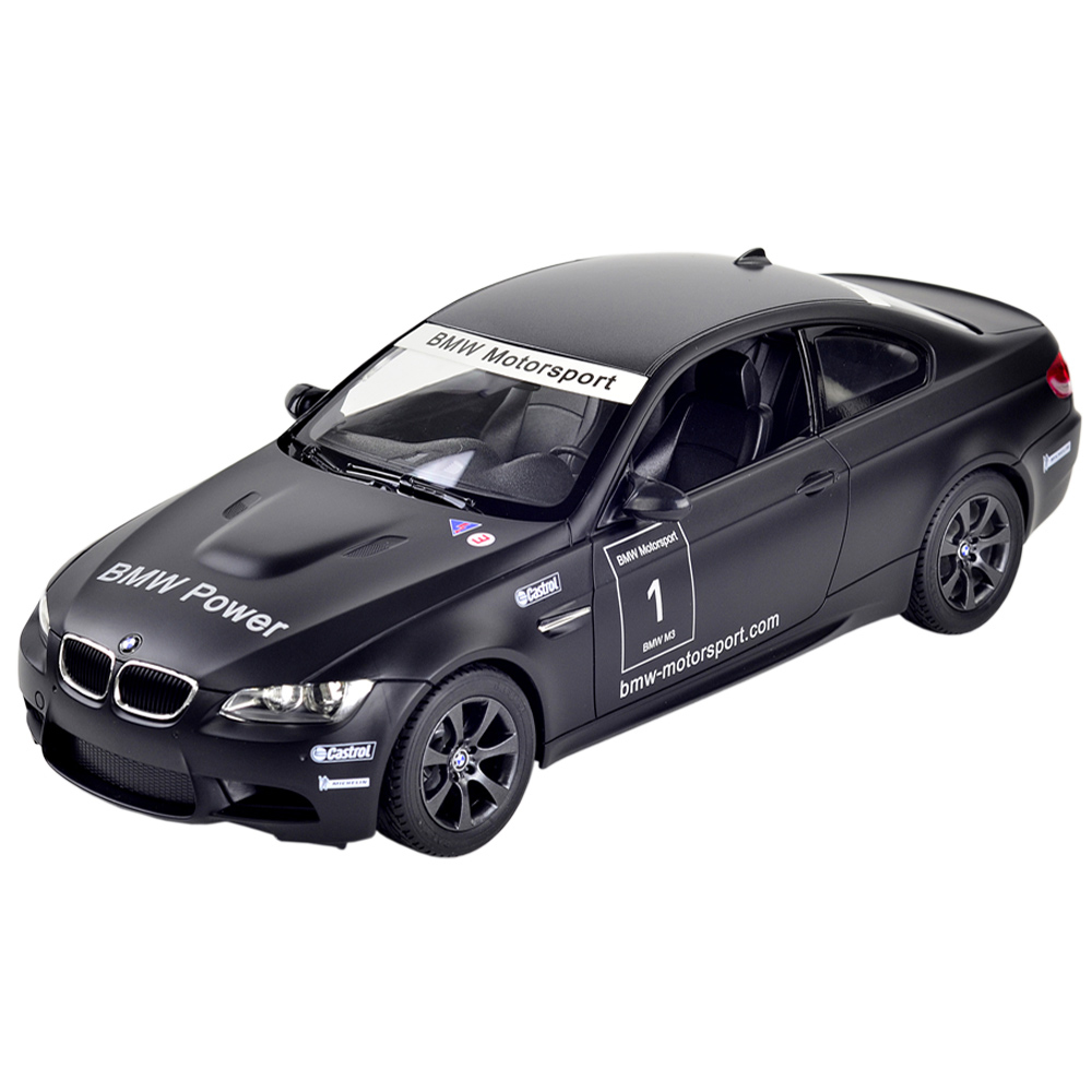 BMW M3原廠授權1:14流線造型遙控模型雙門跑車二色可選