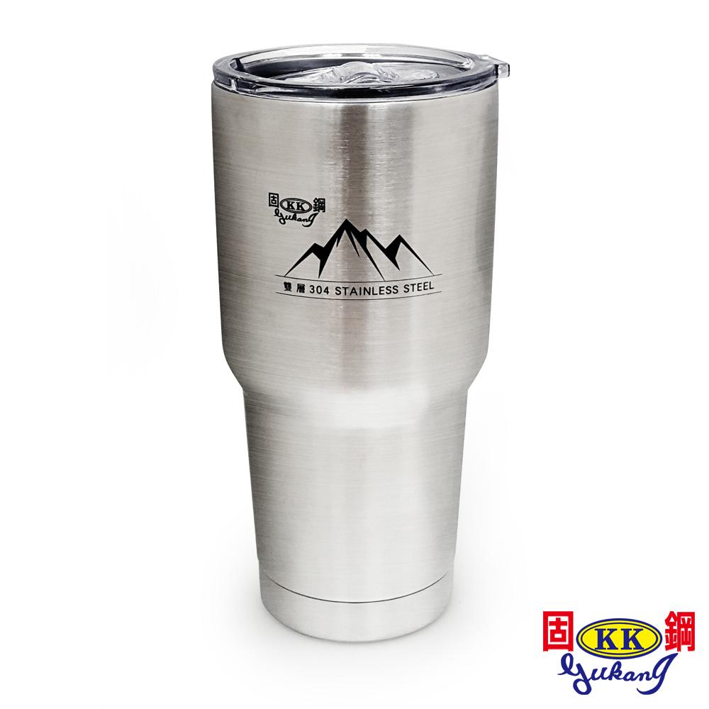 固鋼 不鏽鋼真空保溫凍飲杯 900ml