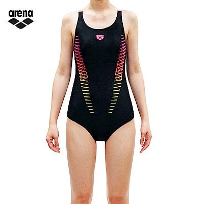 arena 女童款連身泳裝 JSS7411WJA
