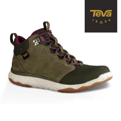 TEVA 美國-女 Arrowood WP 輕量防水機能休閒鞋 (橄欖綠)