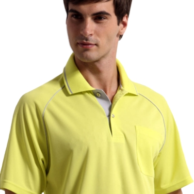 【Sunrise】88115閃耀月黃★短袖POLO男版襯衫