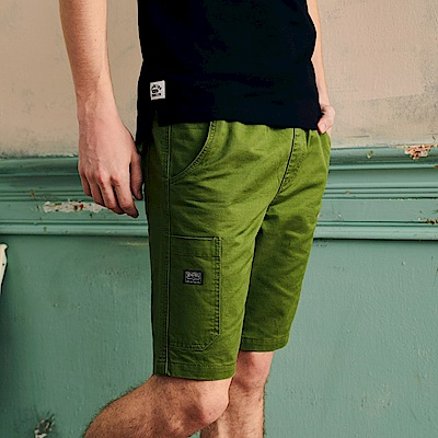 CACO-螺紋腰頭短褲(四色)-男【OAR045】