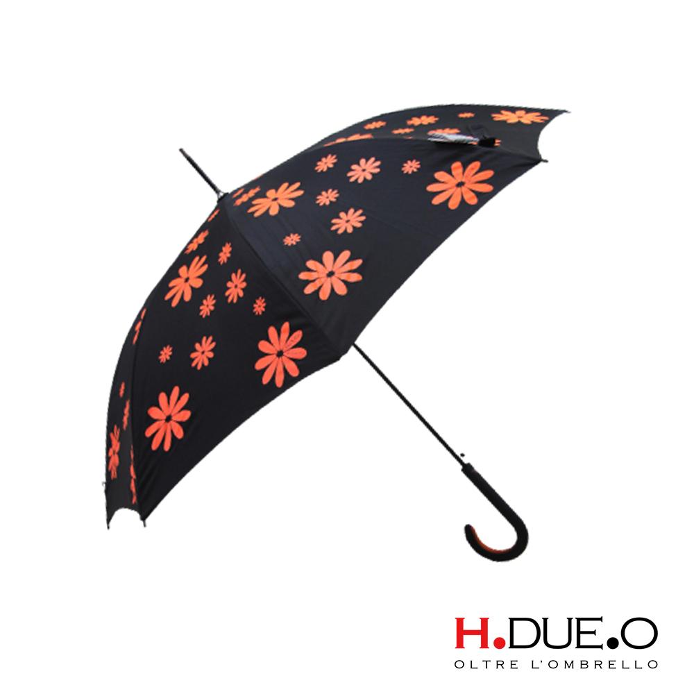 義大利 H.DUE.O 嬉皮花朵抗UV直骨傘 4色可選 product image 1