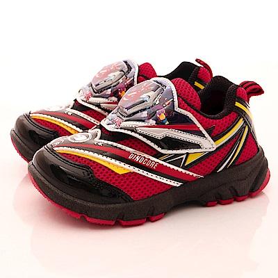 Dinocore恐龍戰騎童鞋 運動電燈鞋款EI6702紅(中小童段)