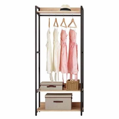 Boden 裴拉2.7尺開放式單吊衣櫃