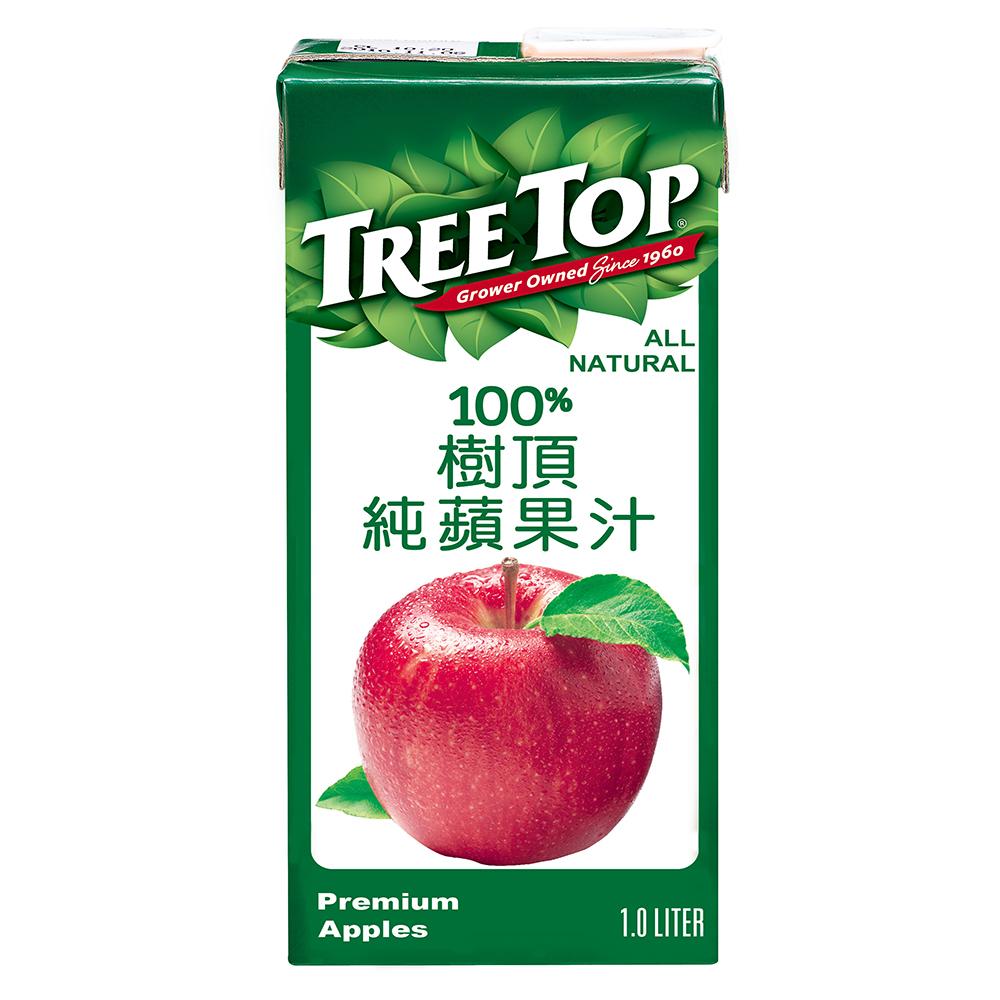 TreeTop樹頂 蘋果汁(1000mlx4入)