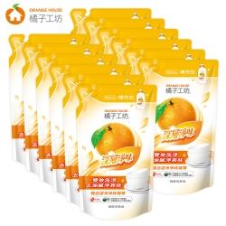 橘子工坊 深層淨味碗盤洗滌液補充包500ml  x12包/箱