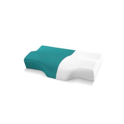 記憶枕 歐美熱銷款 超吸溼排溼表布 3D護頸型釋壓記憶枕 小尺寸 1入