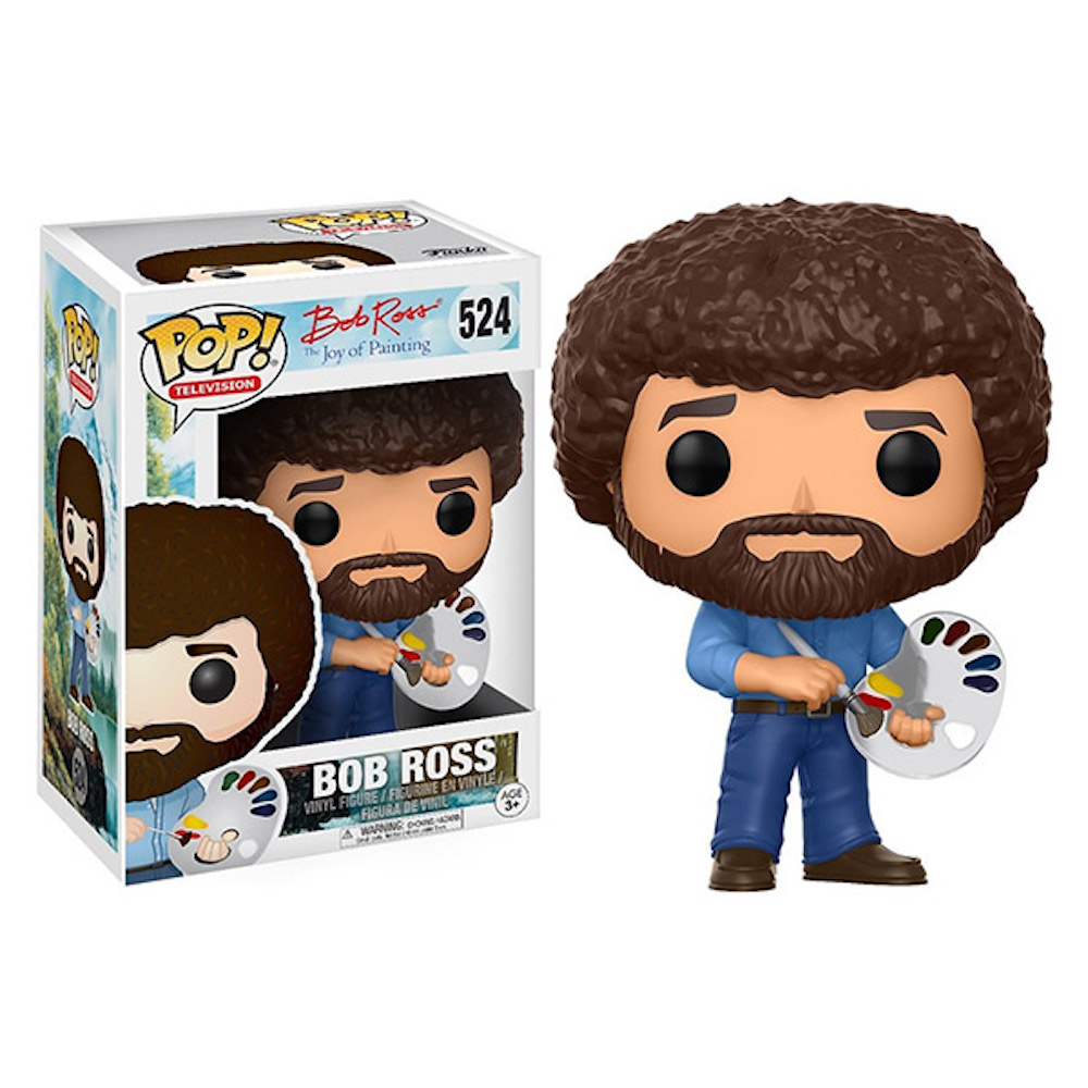 Funko POP!系列 Q版 歡樂畫室 The Joy of Painting Bob