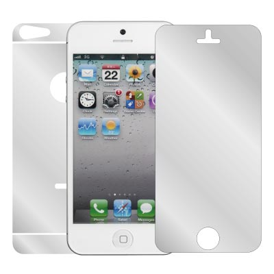 ZIYA-iPhone5-魔鏡-鏡面-螢幕機身保護貼