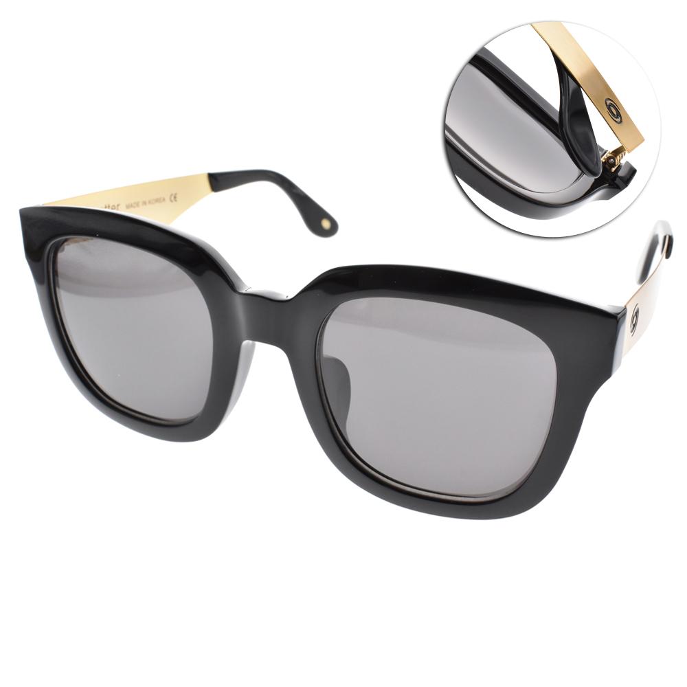 Go-Getter太陽眼鏡 個性大框/黑-金#GS4010 01
