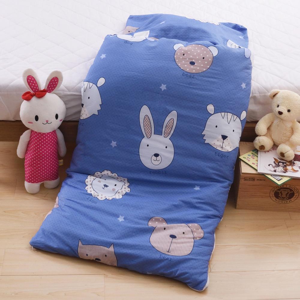 日本濱川佐櫻-童夢家族 純棉冬夏兩用兒童睡袋