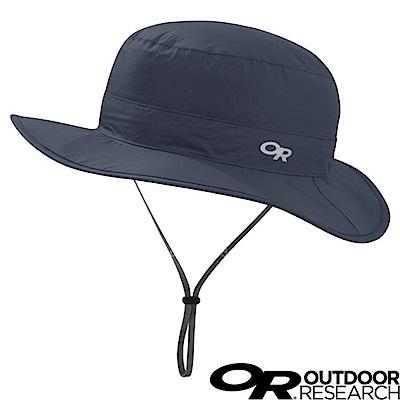 【美國 Outdoor Research】防水防曬透氣可調可收折遮陽帽_夜藍