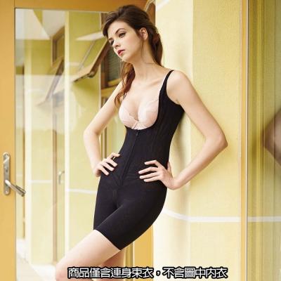 曼黛瑪璉-2014AW重機能連身長管束衣(黑)