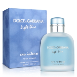 D&G LIGHT BLUE EAU INTENSE 淺藍男性淡香精100ML