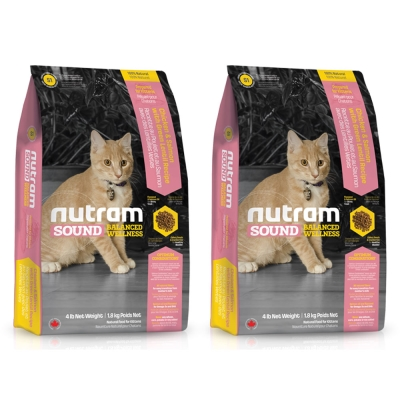 Nutram紐頓 均衡健康配方 - S1 幼貓 雞肉鮭魚 1.8kg x 2包入