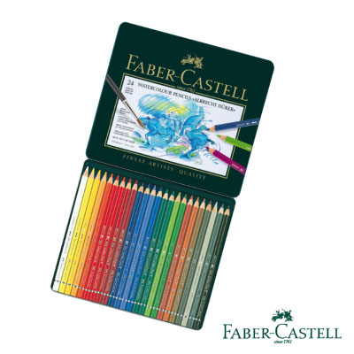 Faber-Castell 藝術家級水彩色鉛筆24色
