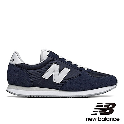 NEWBALANCE 復古運動鞋-男/女U220NV藍色