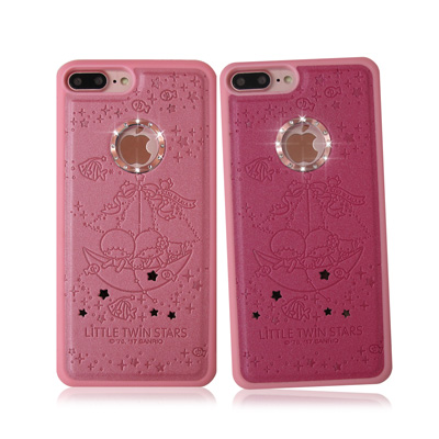正版授權 雙子星iPhone 7 Plus星鑽金莎手機殼(水中漫遊)