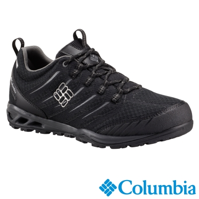 【Columbia哥倫比亞】男-戶外健走鞋-黑色 UBM60230BK