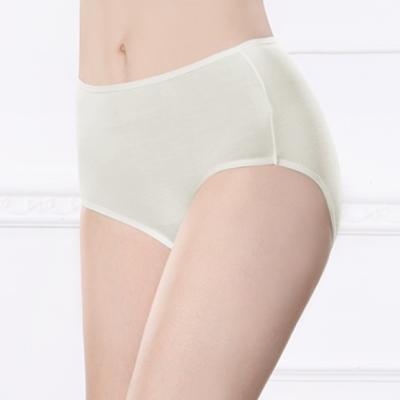 可蘭霓Clany  健康抑菌咖啡碳紗素面M-XL內褲 低調灰