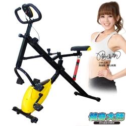 健身大師 – 磁控健身騎馬健腹兩用機-健腹機-健身車