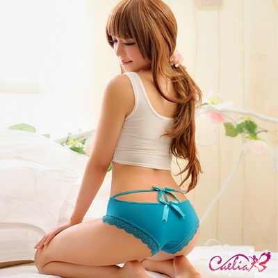內褲 俏麗後臀內褲(碧綠) Caelia