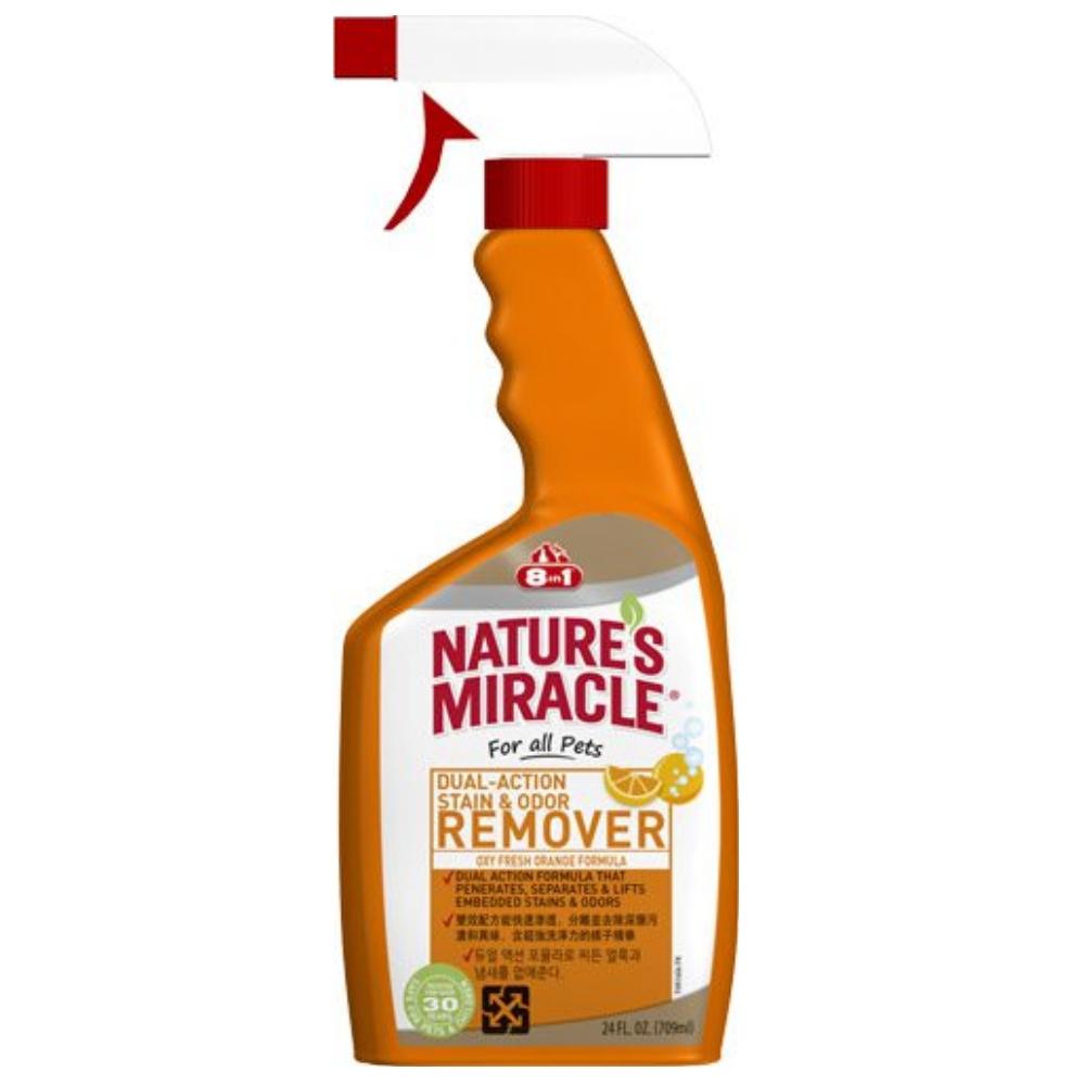 8in1自然奇蹟 橘子酵素去漬除臭噴劑 24oz