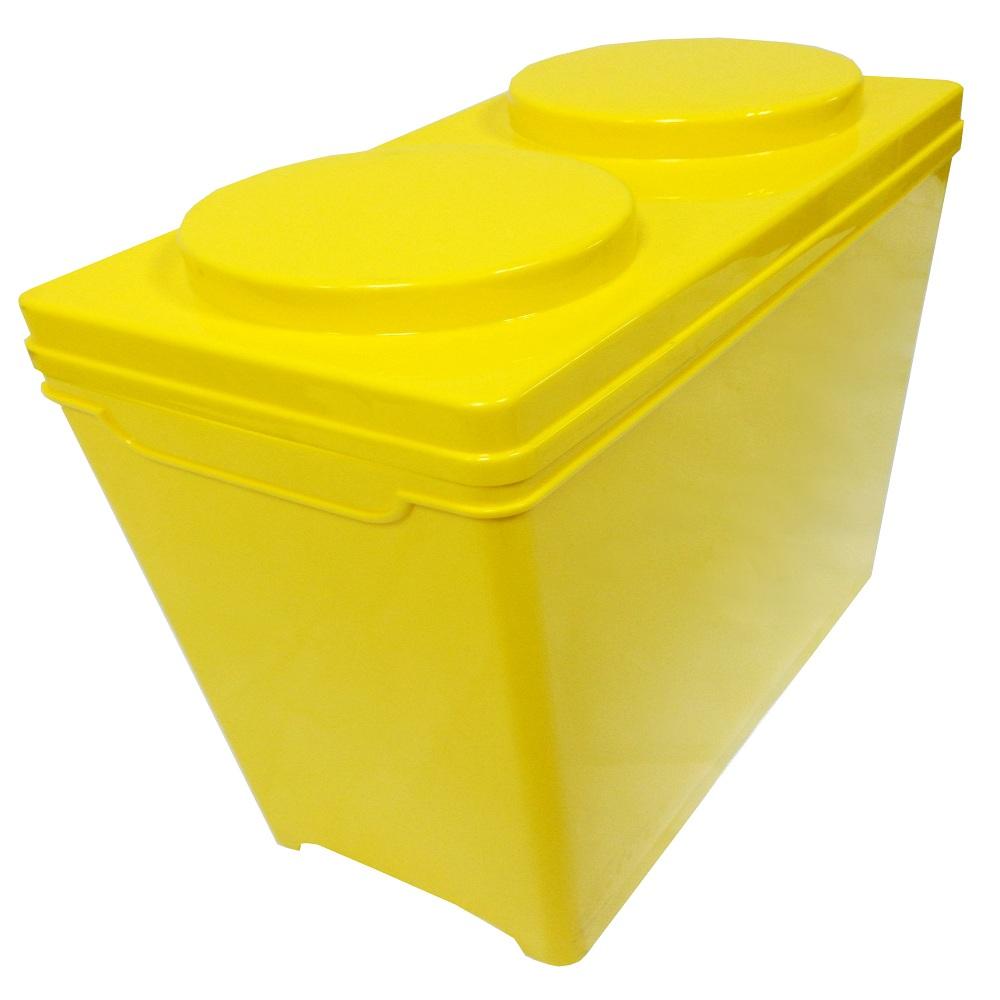 DOLEDO 積木整理箱17公升三入
