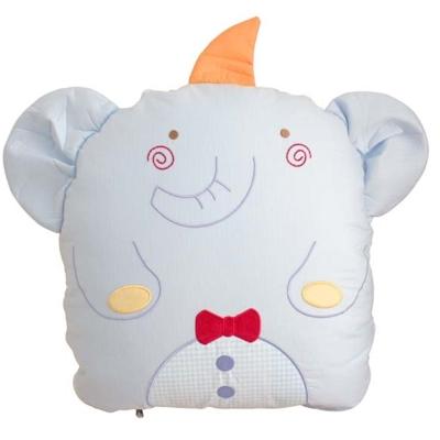 GMP BABY 台灣製純棉大象造型收納被 90*120 藍