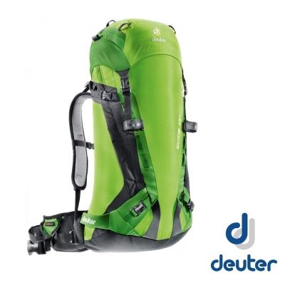 【德國 Deuter】Guide 35L+ 輕量攀峰登山背包35L+8L_綠/淺綠