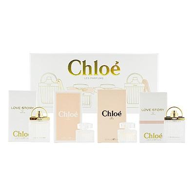 Chloe 小香禮盒四入組-愛情故事/白玫瑰/同名/愛情故事晨曦-快速到貨