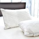 義大利La Belle 法國天然羽毛絨舖棉舒眠枕 -一入