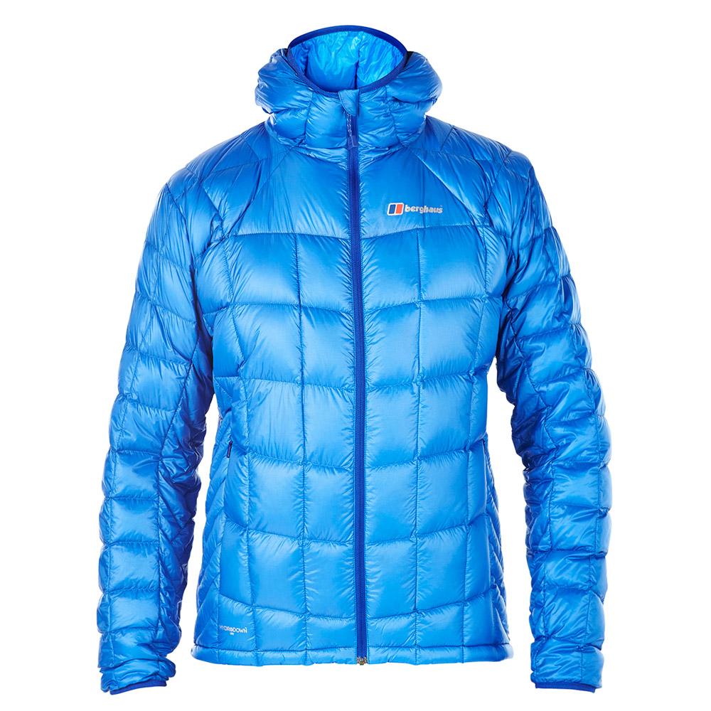 【Berghaus 貝豪斯】男款ILAM頂級溫度調節防潑水鵝絨外套F22M09-藍
