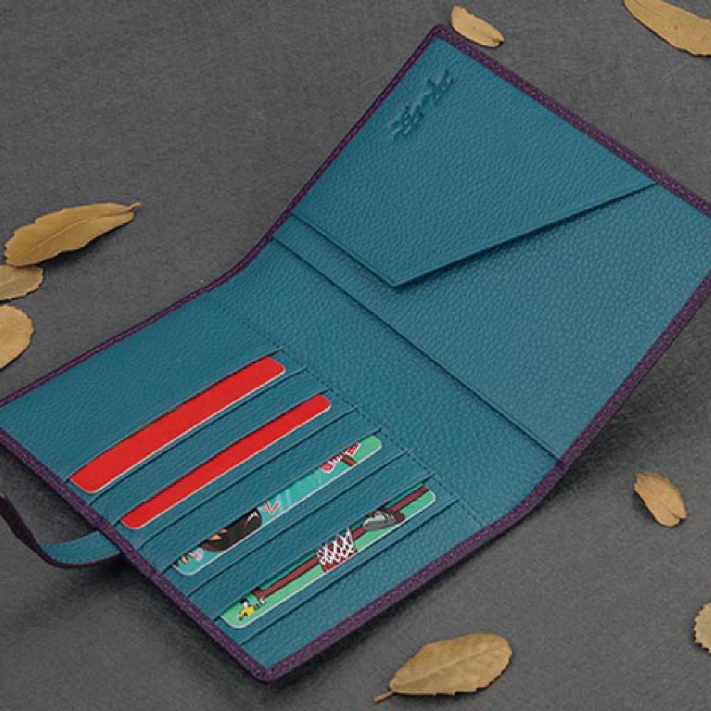 Majacase-男用 女用客製化手工皮件 護照夾 信用卡夾 皮夾 護照套 小牛皮