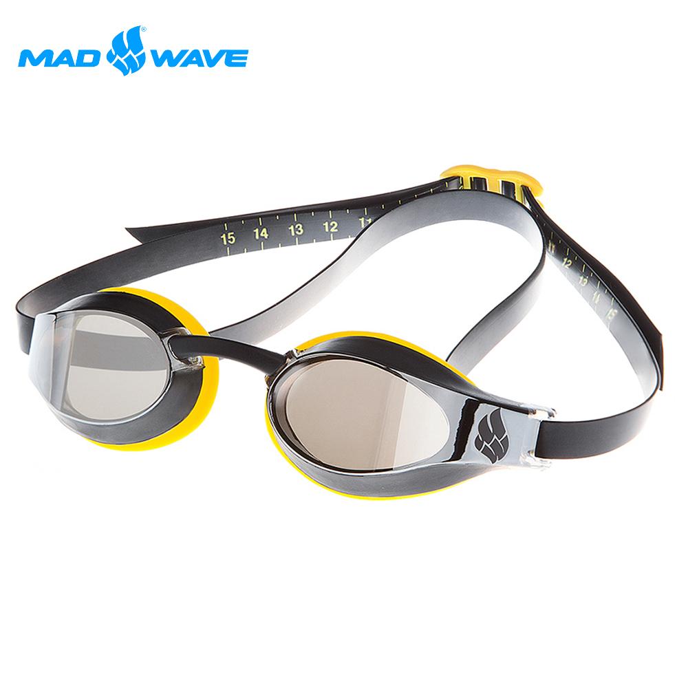 俄羅斯 邁俄威 成人泳鏡 MADWAVE X-LOOK MIRROR