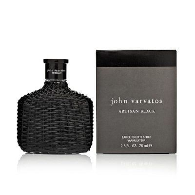 John Varvatos 黑工匠藤編限量版男性淡香水125ml