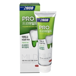 韓國2080 專業亮白牙膏-溫和亮白-玫瑰薄荷(125gX3入)