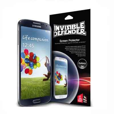 Rearth 三星Galaxy S4 透明抗反光螢幕保護貼(三片裝)