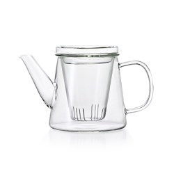 ADERIA 日本進口LAVIA系列耐熱花茶壺500ml(附玻璃濾杯)