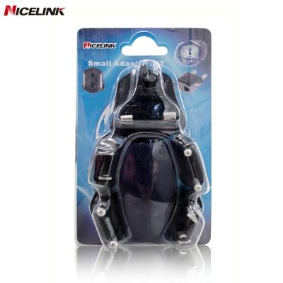 Nicelink 旅行萬用轉接頭-黑色(全球通用組合包) UA-501A