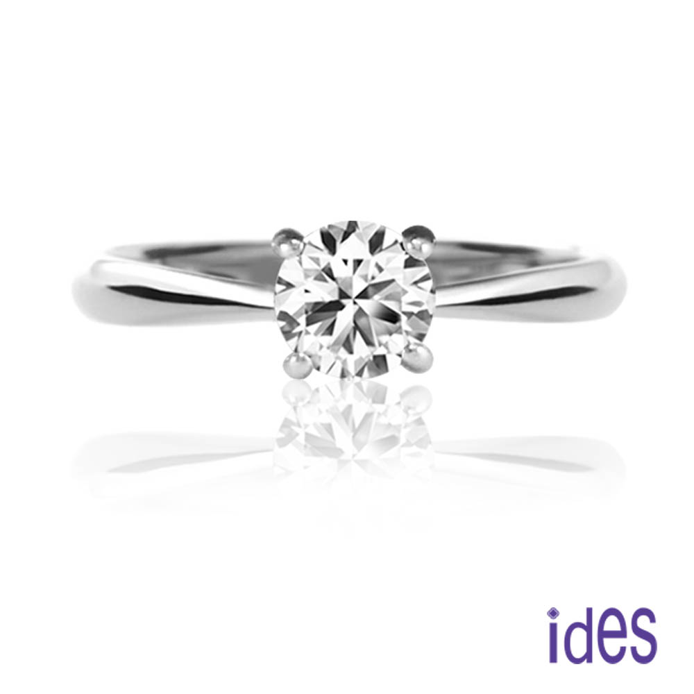 ides愛蒂思 GIA鑑定32分E/VS1八心八箭完美3EX車工鑽石戒指
