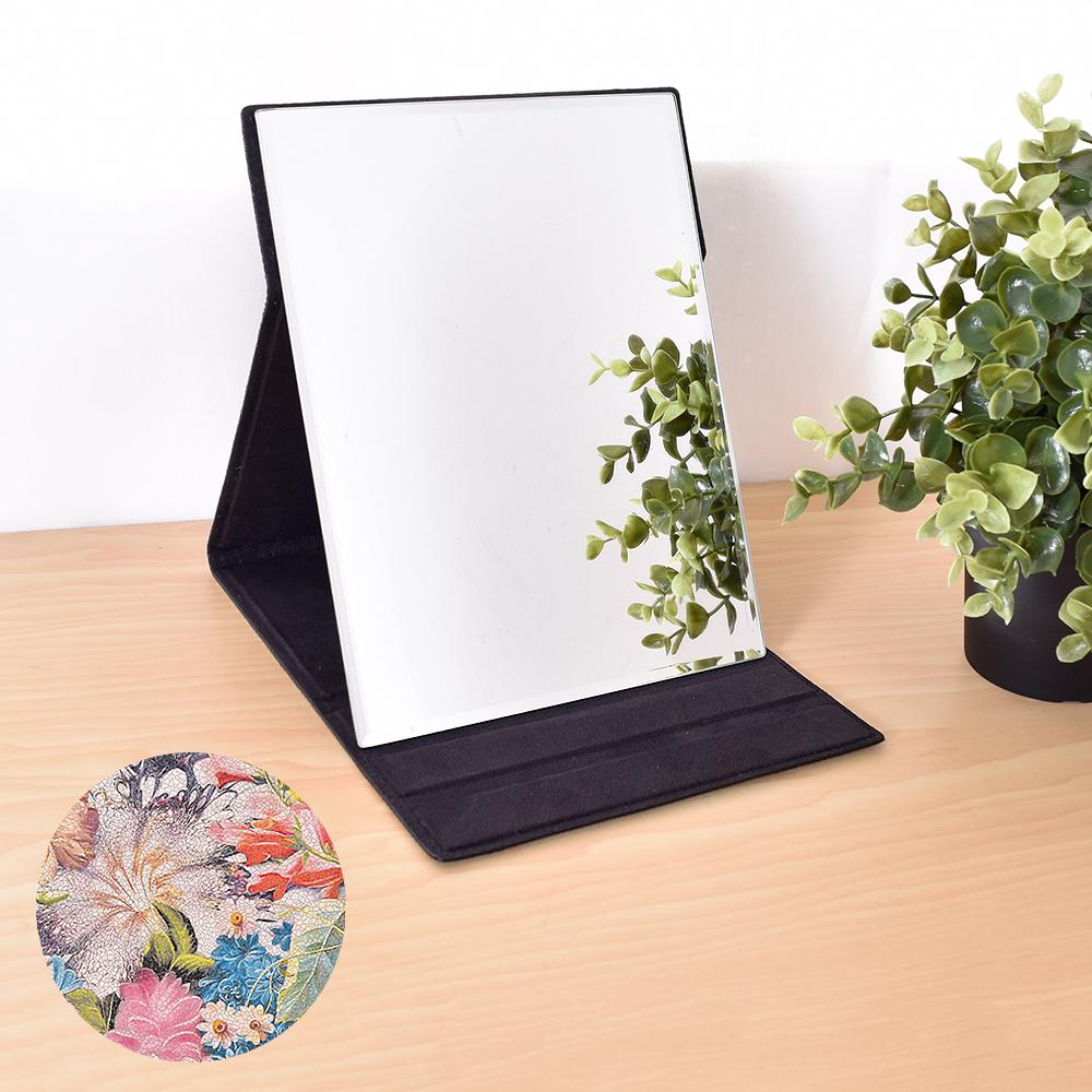 凱堡 伊甸花園化妝摺疊桌鏡(中型17x22)