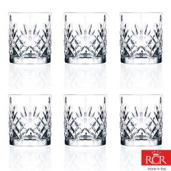 義大利RCR梅洛迪無鉛水晶威士忌杯(6入)310cc