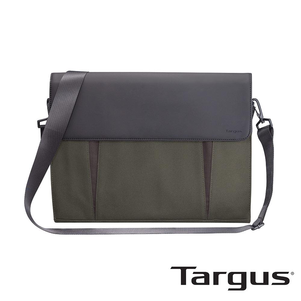 Targus Ultrabook 14吋超薄帆布隨身包-橄欖綠