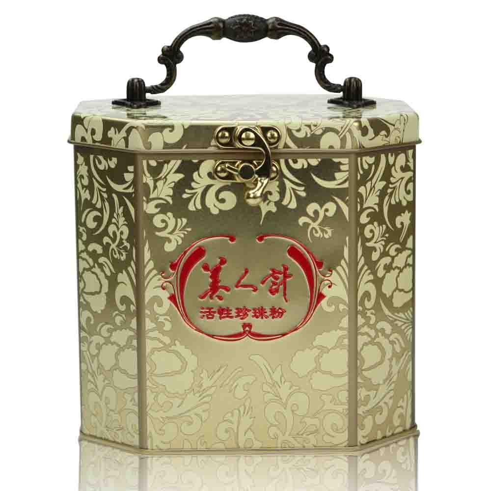 【美人計】活性珍珠粉(120入/盒)(禮盒版)X1