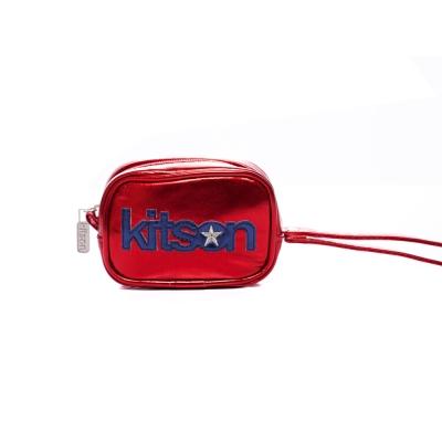 kitson 金屬光數位相機包 / 隨身包-RED