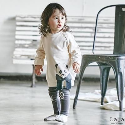 Lala韓國 熊貓長袖上衣